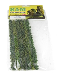 K&M Countryscene NH100 150mm lengths of hedge x 6