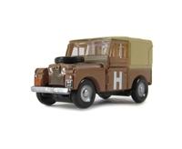 "Oxford Diecast NLAN188002 Land Rover Series 1 88"" Canvas Sand/Military"