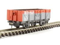 Peco Products NR-11R Railfreight Open Wagon in BR red/grey