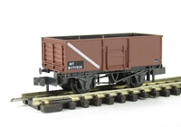 Peco Products NR-44FB BR Butterley steel coal wagon in bauxite #B171610