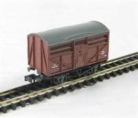 Peco Products NR-45B (C) Cattle Wagon - British Railways livery. Version C