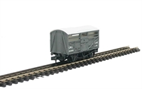 "Peco Products NR-45M Cattle Truck ""LMS"" in light grey"