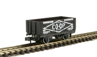 "Peco Products NR-P110C 7-plank coal wagon ""Birmingham Co-op"" No. 45"