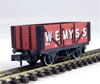 "Peco Products NR-P400 7 plank wagon ""Wemyss"""