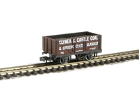 "Peco Products NR-P401c 7 plank wagon ""Glynea & Caslte Llanelli 197"" with coal load"