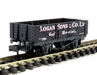 Peco Products NR-P480 'Logan & Son' coal wagon