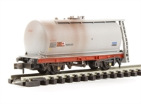 Peco Products NR-P73W 15ft Tank Wagon (Type C) Shell unbranded - weathered