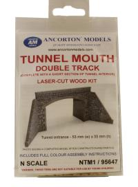 Ancorton Models NTM1 Tunnel Mouth Double Track Stone (95647)