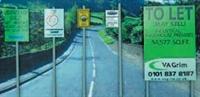 Ancorton Models NUS1 Modern Road Signs - Urban signs