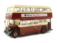 Corgi Collectables OM41605A Crossley DD42, Lancaster City Transport, Bus Station W dual destination