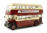 Corgi Collectables OM41605B Crossley DD42, Lancaster City Transport, Marsh 2 dual destination