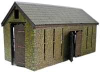 Ancorton Models OO-RB1 Rural Barn (Stone built)