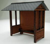 Ancorton Models OOBUS2 Wooden bus stop kit