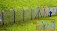 Ancorton Models OOF8 Chainlink Security Fence with Barbed Wire Top Kit (240 x 25mm)
