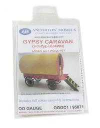 Ancorton Models OOGC1 Horse-drawn gypsy caravan kit