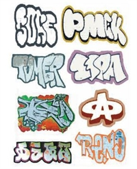 Ancorton Models OOMG2a Graffiti waterslide transfers pack 3