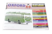 Oxford Diecast OxCat1410-1501 Oxford Diecast 48-page A6 catalogue - Oct 2014 to Jan 2015. Includes OO, N & O gauge items