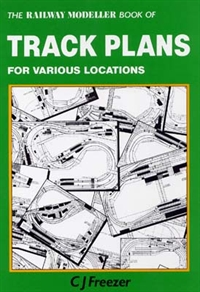 Peco Products PB-66 The Railway Modeller Book of Trackplans for various locations