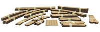 Proses CB-START Hornby Pre-cut cork beds starter pack 40m (ex-PCCRKSET)