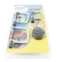 Model Craft PCL1003 3 x G-Clamps and Magnet