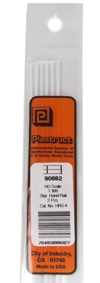 Plastruct HRS-4 90682 Hrs-4 Hand Rails x 2