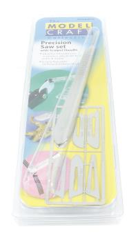 Model Craft PKN0009-K Precision Saw Set with Scalpel Handle