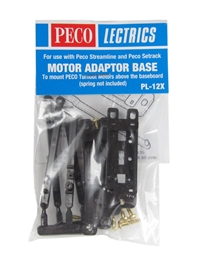 Peco Products PL-12X Adaptor base kit (no spring) x2