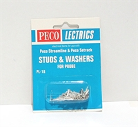 Peco Products PL-18 Studs and Tag Washers (use with PL17)