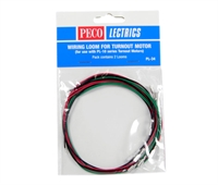 Peco Products PL-34 Pre-wired Wiring Loom for use with PL-10 and PL-10E motors