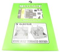Metcalfe PN104 Stone Built Terraced Houses