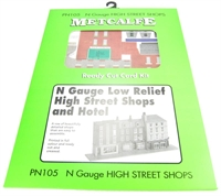 Metcalfe PN105 Low-relief Shops & Hotel