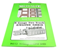 Metcalfe PN113 Two Track Engine Shed