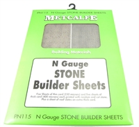 Metcalfe PN115 N Gauge Stone Sheets