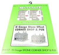 Metcalfe PN117 Corner Shops, Stone