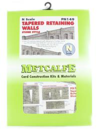 Metcalfe PN149 Tapered Retaining Walls (Stone)