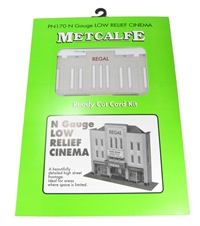 Metcalfe PN170 Cinema and shop (low relief)