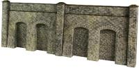 Metcalfe PO245 Retaining Wall in Stone - 4 wall sections per kit