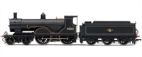 Hornby R3107 Class T9 steam locomotive 4-4-0 30313 in BR lined black with late crest & tender