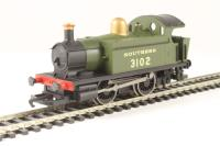 Hornby R3213 Class 101 Holden 0-4-0T 3102 in SR Olive Green - Hornby 2013 Collectors club limited edition