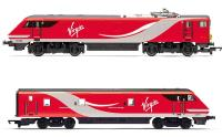 Hornby R3501 Virgin East Coast train pack with Class 91 91124 & Mk4 DVT 82219 in VTEC livery - Limited Edition