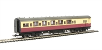 Hornby R4348A BR Blood and Custard Maunsell Brake Composite (High Window) A