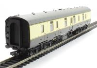 Hornby R4642A Mk1 BG full brake W84166 in BR chocolate & cream