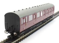 Hornby R4649 BR Gresley Suburban Composite Coach, Maroon