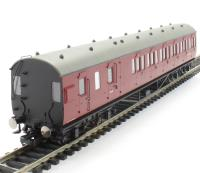 Hornby R4678A 57' non-corridor brake third M20770M in BR crimson