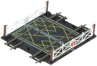 Hornby R636 Double track level crossing