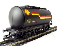 Hornby R6371 Petrol tanker wagon in Shell black