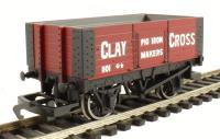 Hornby R6617 6-plank wagon Clay Cross