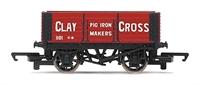 Hornby R6617 6-plank wagon Clay Cross