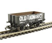 Hornby R6662 4 plank wagon 'Old Radnor'