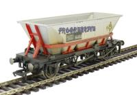 Hornby R6706 HAA MGR hopper wagon 351854 in Railfreight red livery - with graffiti